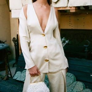ISO Cult Gaia Sandra Cut Out Blazer in M
